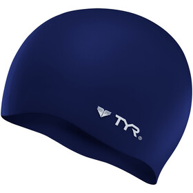 TYR Silicone Cap No Wrinkle navy
